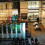 Refreshing open air courtyard restaurant