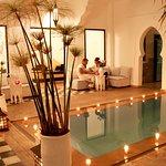 patio piscine riad chamali marrakech
