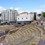 The Roman Theater.