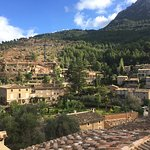 View from Superior Suite, Hotel Les Puigs, of La Residencia