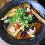 Ramen soup.