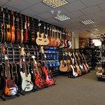 Guitar Wall - Ground Floor