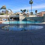Une des nombreuses piscines du complexe