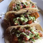 Fantastic Oysters and Fish Tacos.