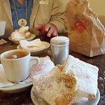 Beignets and cafe aux lait