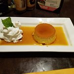 Got to end my scrumptious meal with their flan....tastes as good as it looks!