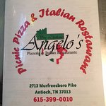Angelo's Picnic Pizza Photo