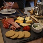 The best meat and cheese plate for breakfast!
