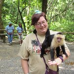 Visiting the monkeys