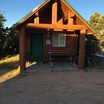 Cowboy cabin at Zion Ponderosa Ranch Resort, easily accomodating 4 (2 adults / 2 kids)