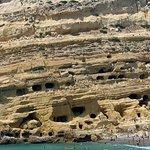 Matala beach Foto