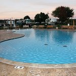 This is the pool at the RV Resort.