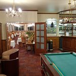 petit bar et salle de billard coin très sympa