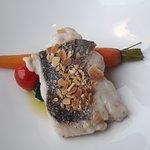 Une photo d'un plat au filet de poisson