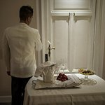 Il servizio in camera della sposa