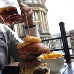 Awesome burger and great choice of beers. Free WiFi!
