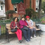 Outside the tea Room at Streetsville