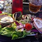 salade de chèvre chaud,