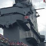 USS Lexington Flight Control Deck