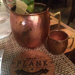 Plank's signature mule which is OUTSTANDING!