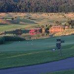 Blick vom Golfclubhaus