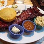 Full rack of ribs ($25)