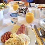 Our complimentary breakfast was fantastic!