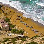 Red Beach (FKK) nahe Matala