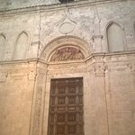 la facciata di Sant'Agostino