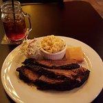 Beef brisket at Bulldog BBQ!