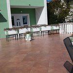 Terrace. In the summer season are fully equipped with tables and chairs