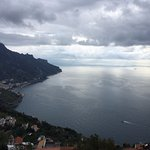 View from Ravello of the coastline