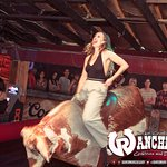 Riding the bull!