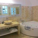 Junior suite huge bathroom and spa tub