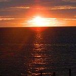 Pôr do Sol, frente do Hotel Sunset