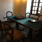 Game room in the hotel