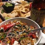 Burrito Bowl and a Big Corona at Black Diamond