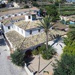 Foto aérea del Hotel Tossal d'Altea