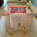 Laundry wash board