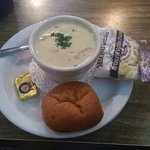 clam chowder (small)