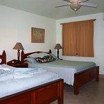 Two queen beds, cabin 8