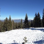 Looking east toward the back canyons of the Sierras.