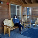 sheltered porch