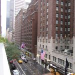 Looking East over the Balcony of Room 403 down 48th St.
