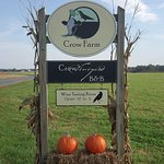 Crow Farm's sign