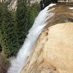 On the brink of Vernal Fall