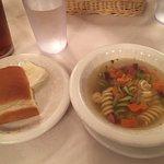 ステーキセット(パンとスープ)