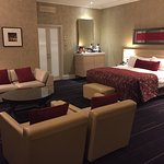 Junior suite including lounge area on the first floor