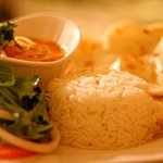 Moksha Indian Bistro Butter Chicken Plate | Niagara Falls Canada Indian Restaurant