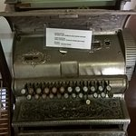 Typewriter from the inception of Montagu...such history here